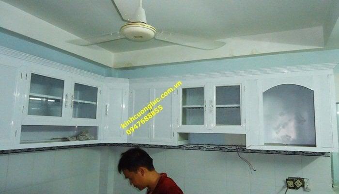 DSC01929 - Tủ kệ bếp nhôm kính treo tường