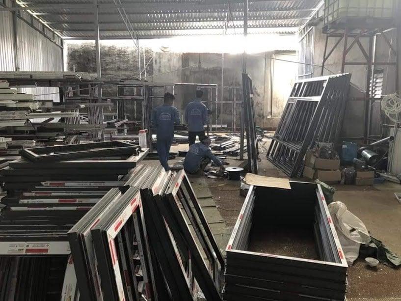 nhà máy sản xuất cửa nhôm xingfa giá rẻ