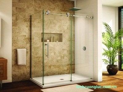 phong tam vuong - Cửa kính phòng tắm đẹp