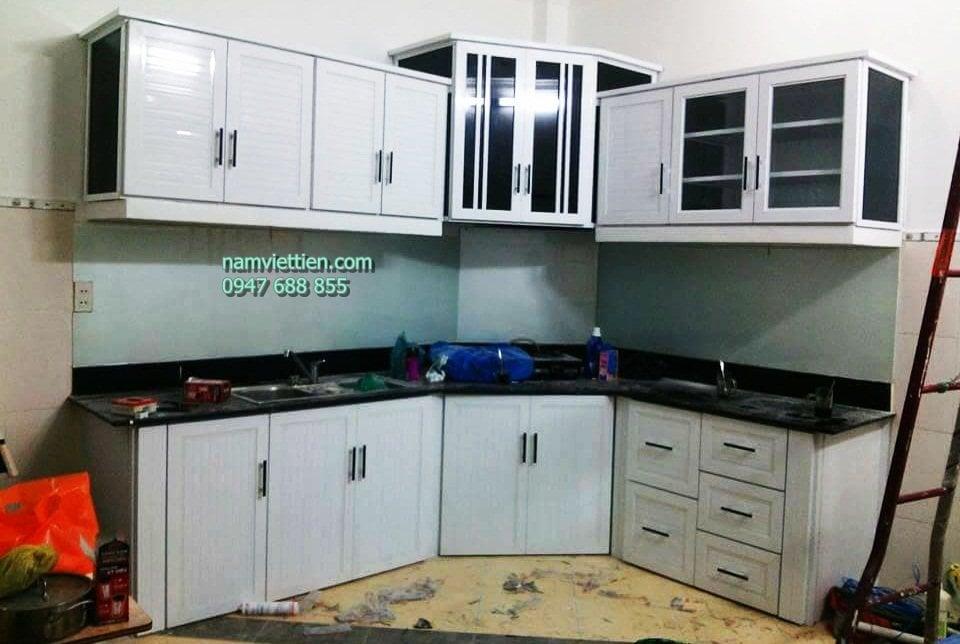 tủ bếp nhôm kính tại đà nẵng