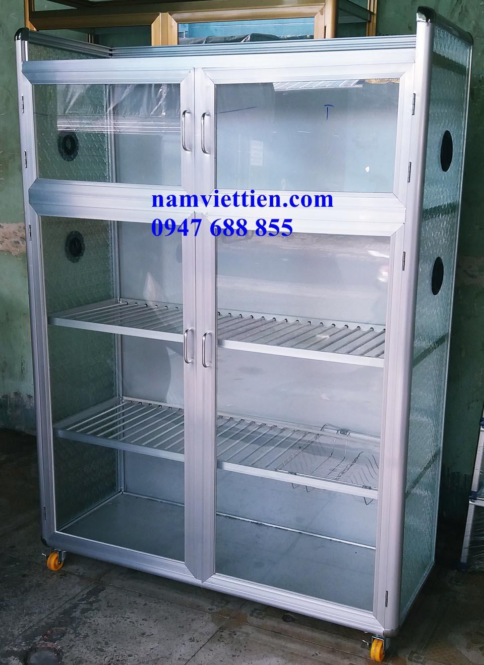 20180716 152951 - Tủ đựng cốc chén nhôm giá rẻ