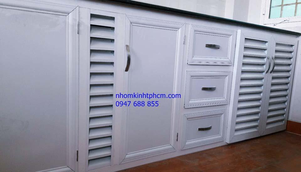 IMG 20180426 160130 - Bán tủ bếp nhôm kính đẹp giá rẻ