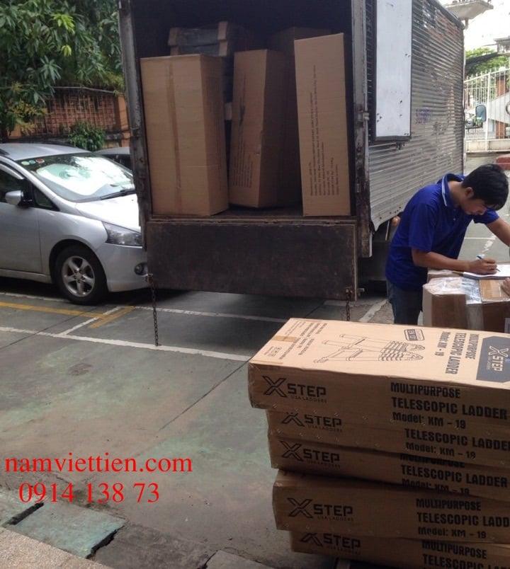 Thang nhôm rút đơn Xstep XT-380C cao 3m8