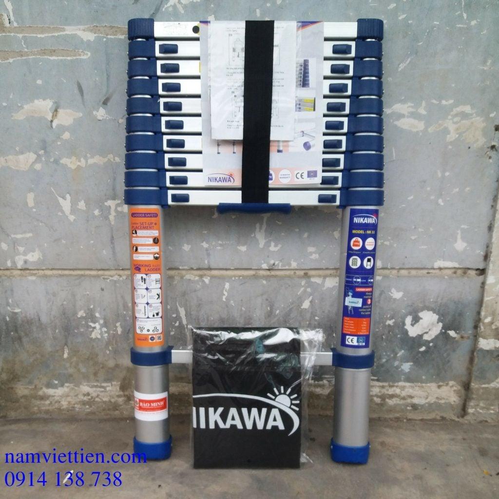 thang nhom nikawa thang ly hcm 1024x1024 - Thang nhôm rút đơn Nikawa NK-48