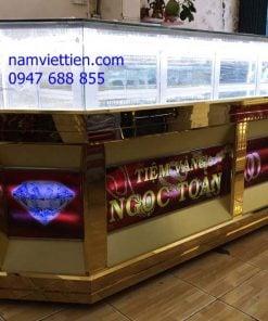bán tủ trưng bày vàng bạc