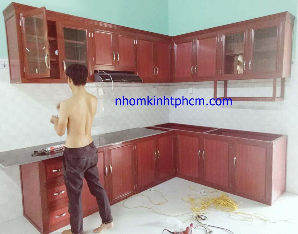 IMG 20180622 140856 - Báo giá tủ bếp nhôm kính
