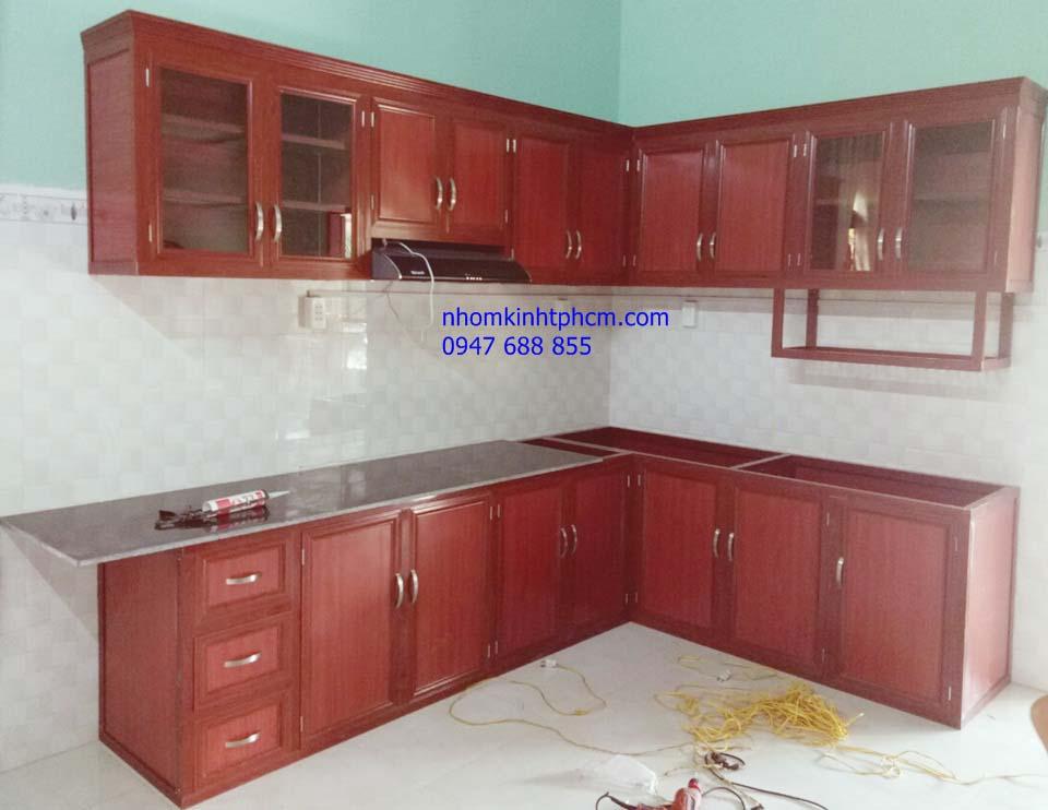 IMG 20180622 140904 - Những mẫu tủ bếp nhôm kính đẹp