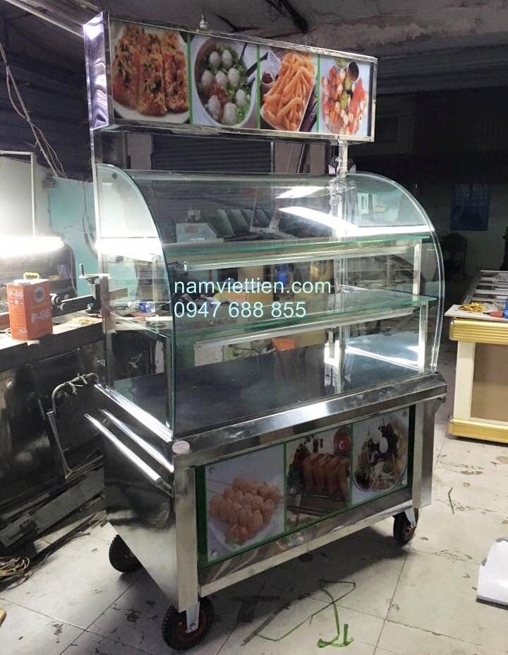 Tủ bán cơm cho văn phòng bằng inox 304 mẫu mới đẹp giá rẻ ở TPHCM