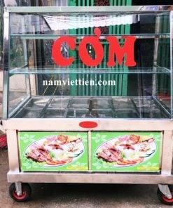Xe bán cơm inox giá rẻ tphcm