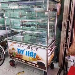 Tủ inox bán bánh mỳ