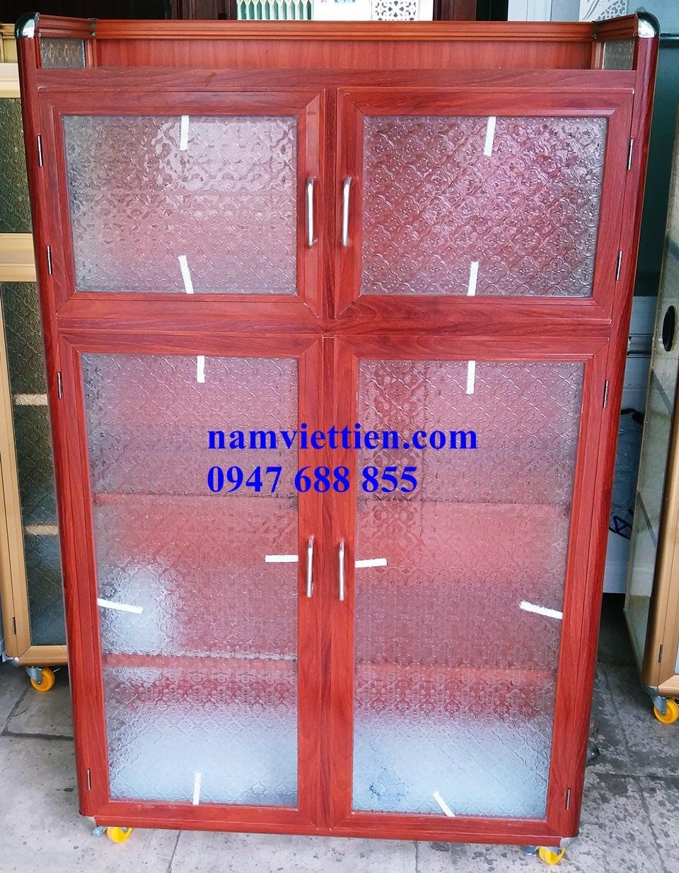 20170903 160521 - Các loại tủ đựng chén nhôm kính giá rẻ
