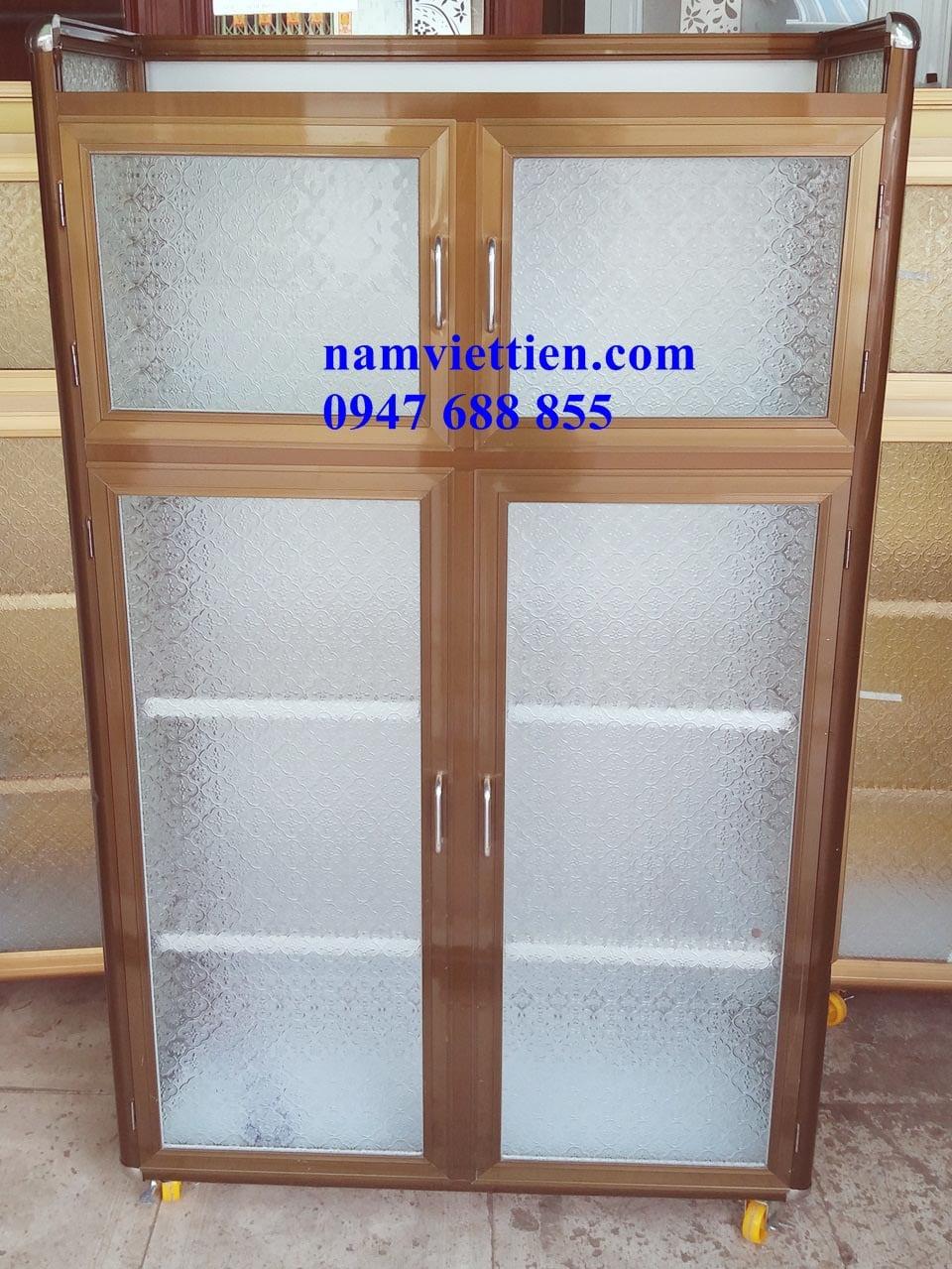 20170903 160625 - Các loại tủ đựng chén nhôm kính giá rẻ