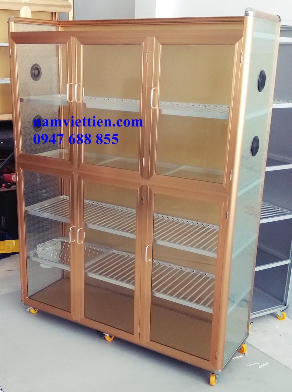 20180420 110115 2 - Mẫu tủ chén nhôm kính đẹp