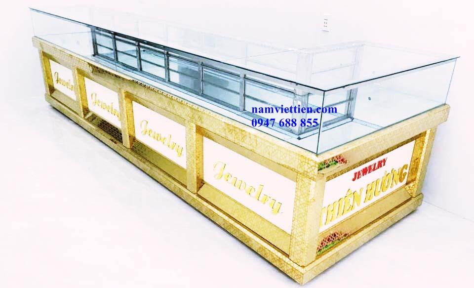 Những mẫu tủ bán vàng bạc nhôm kính cao cấp chất lượng cao.