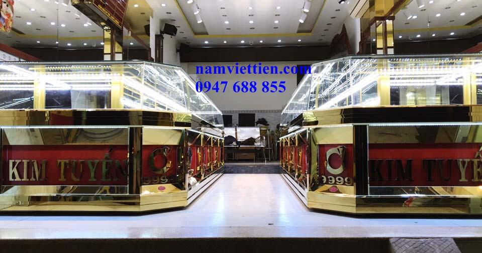 Tủ bán vàng đá quý cao cấp