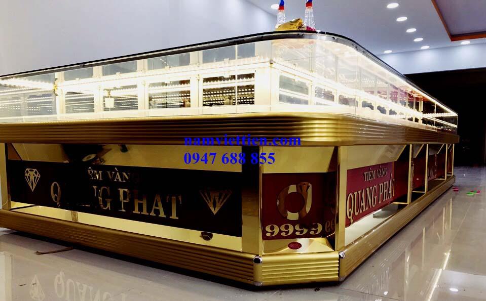 ddd 1 - Tủ nhôm kính bán vàng cao cấp