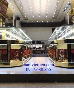 xưởng sản xuất tủ bán vàng giá rẻ