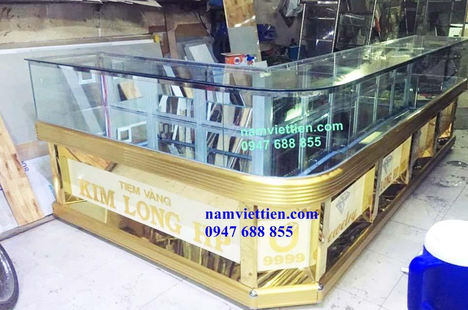 Tủ bán vàng nhôm kính HCM