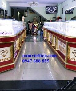 Xưởng sản xuất tủ bán vàng bằng nhôm
