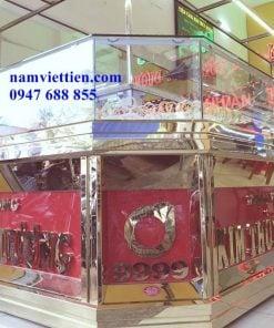 cửa hàng bán tủ chén inox