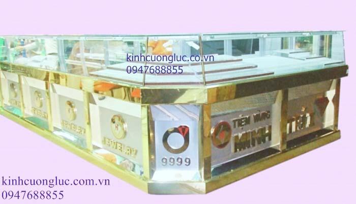 Tủ trưng bày vàng bạc trang sức