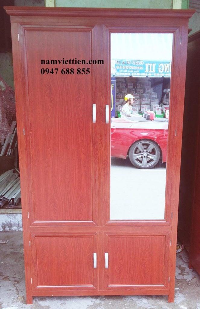 20160831 113450 663x1024 - Tủ nhôm kính đựng quần áo