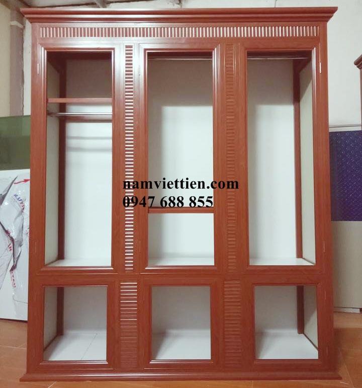 Tủ quần áo nhôm kính HCM