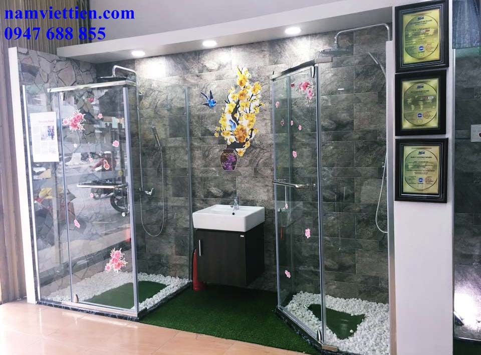 Lắp đặt phòng tắm bằng kính giá rẻ