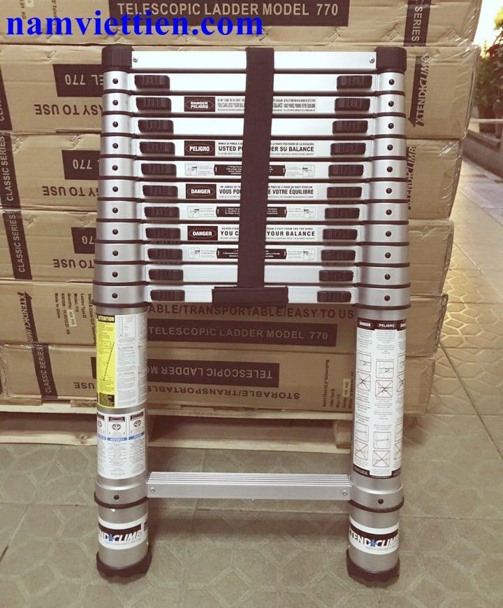 thang nhom nha khau my - Thang nhôm nhập khẩu mỹ Xtend+Climb® 830[3,8M]