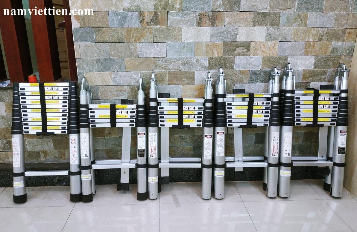 thang nhom rut chu a xstep - Thang nhôm rút nhập khẩu Xstep HM - 28[5,6M]