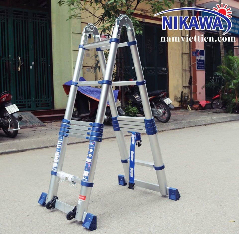 thang nhom rut doi chu a nikawa - Thang nhôm rút nhập khẩu Xstep HM - 28[5,6M]