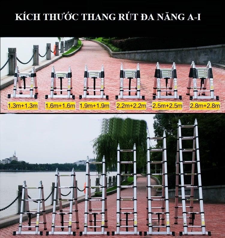 Thang nhôm rút gọn kachi