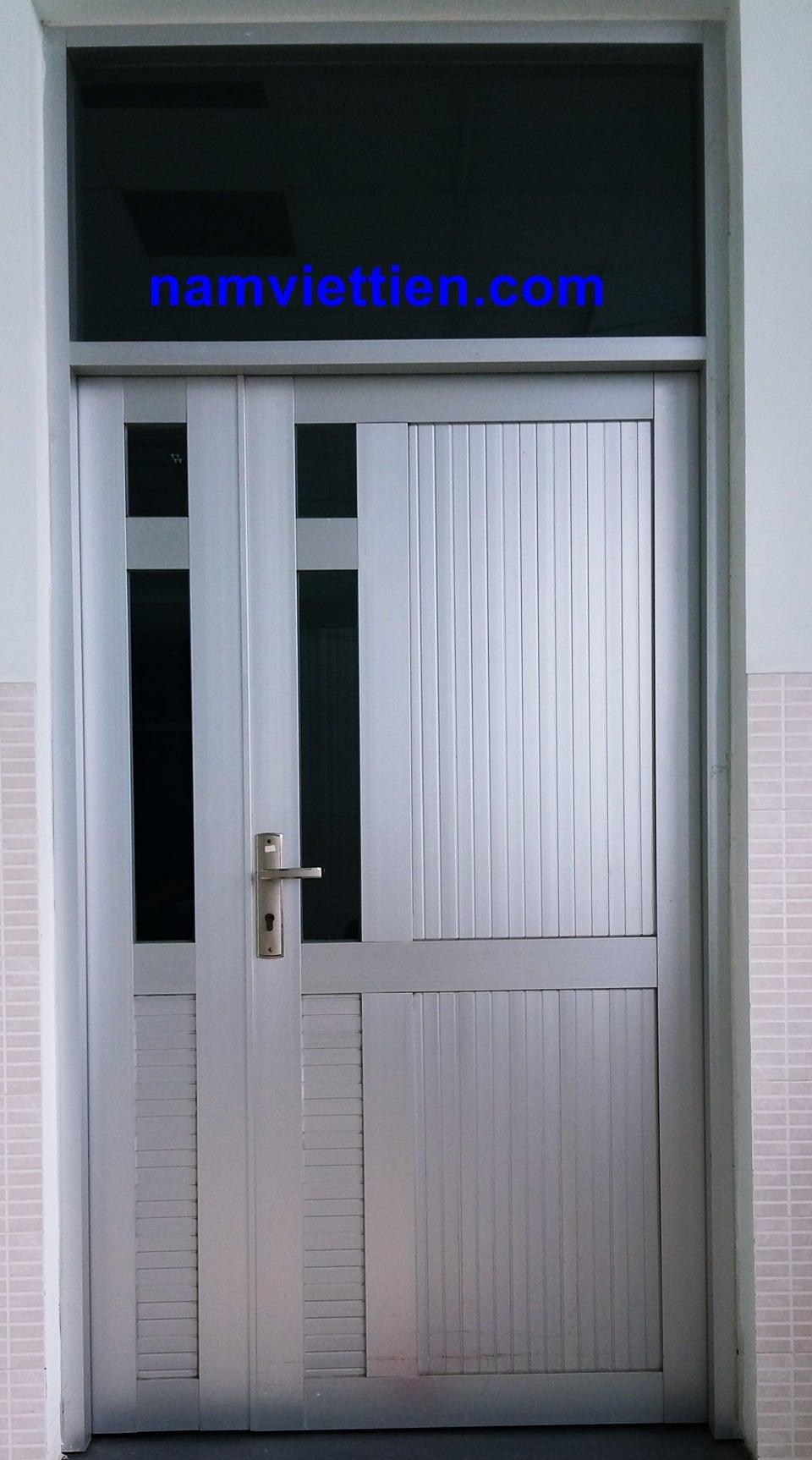 cửa nhôm việt pháp 4 cánh