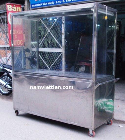 tủ bán phở inox 304