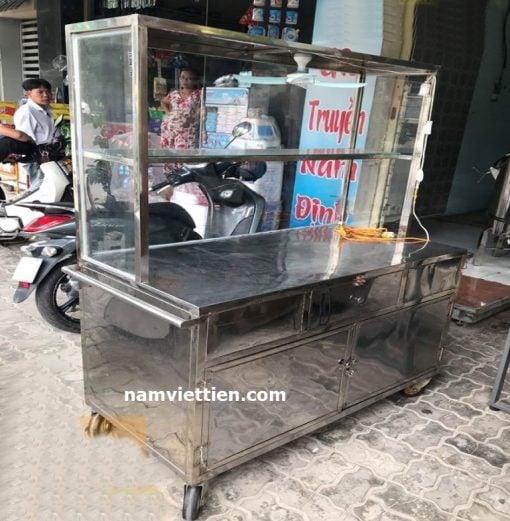 tủ bán bún phở inox tphcm