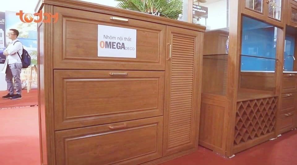 bao gia tu be nhom omega - Tủ Bếp Nhôm Kính Omega Deco